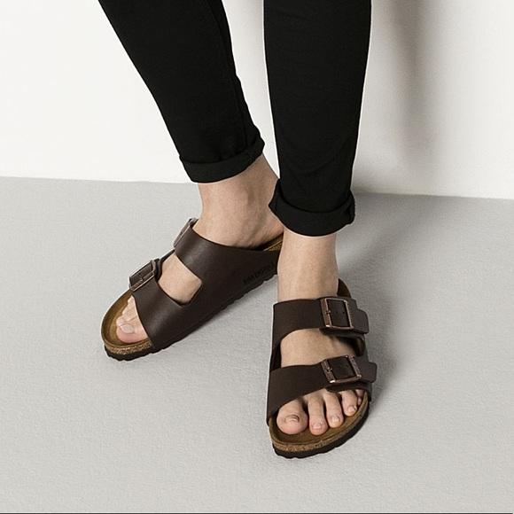 2e686392a22b Birkenstock Shoes - ✨Birkenstock Arizona Birko-Flor in Dark Brown